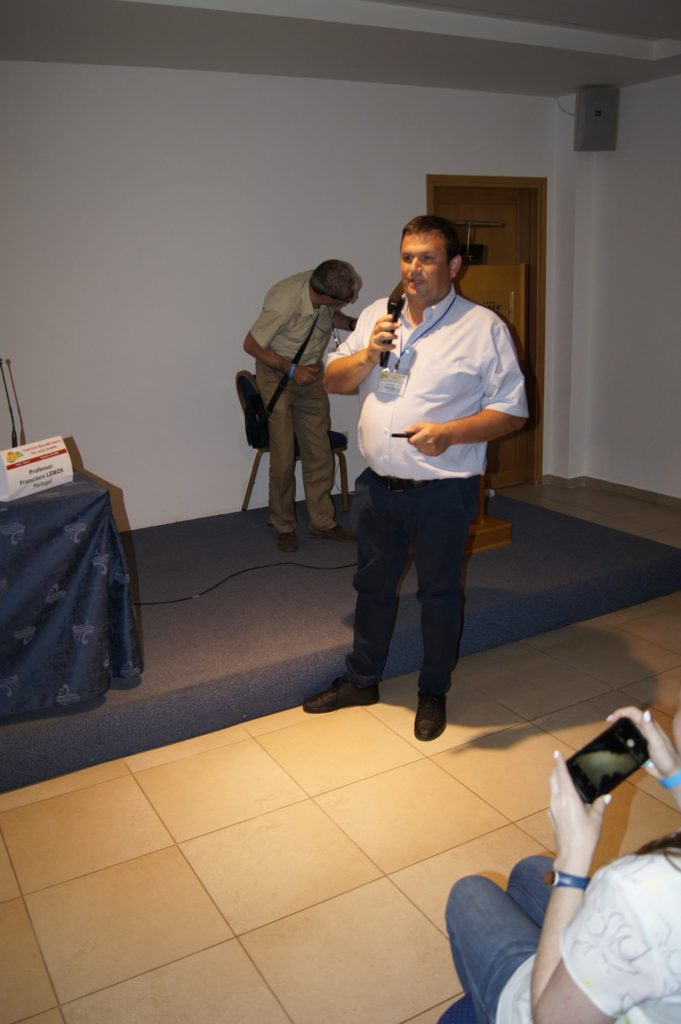 General Director of ELP Group A. Grachev makes a presentation